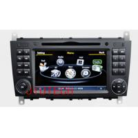 Quality 7'' Car DVD Stereo GPS Navigatio for Mercedes-Benz C-Class CLK W203 Auto Radio GPS Satnav for sale