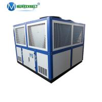 Kazakhstan Natural Gas Cooling Heat Exchanger Included 30HP 83Kw Air Cooled Chiller