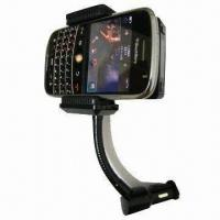 China Handsfree Wireless Car FM Transmitter Kit for iPhone/BlackBerry and All Mobile Phones on sale