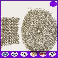 Quality Pan cast iron cleaner/chainmail scrubber for sale