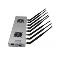 Quality 30m Long Range High Power Signal Jammer 8 Bands 16w With 24 Hours Work Time for sale