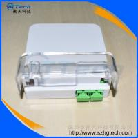 Quality SC / APC Duplex Fiber Optic Terminal Box , 2Cores FTTH Fiber Box for sale
