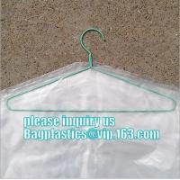 commercial clear pe ldpe poly hotel laundry roll up suit garment packaging dry cleaning cover plastic polythene bag for