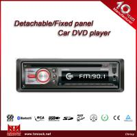 Quality Car DVD player with USB/SD card slot & AUX input,single din,DVD/AVI/VCD/MP3/WMA/CD player(Model:V-6580D) for sale