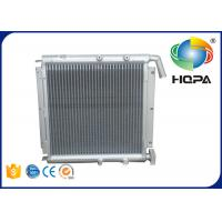 Quality White Excavator Engine Parts Aluminum CAT 307B Hydraulic Oil Cooler for sale