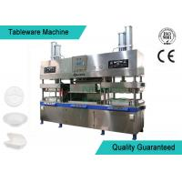 Quality Easy Operating Wood Fiber Paper Plate Manufacturing Machine Semi Automatic for sale