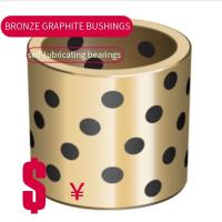 Quality High Hardness C86300 Graphite Plugged Bushings Oilless Bearing Manganese Bronze for sale