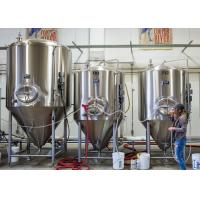 Quality Mirror Polish Stainless Steel Conical Fermenter Mini Beer Or Wine Making for sale