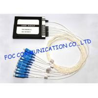Quality CWDM optical multiplexers Mux / Demux Module 8 + 1 Channel High Isolation for sale