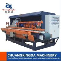 Quality Automatic marble tiles edge polishing machine for stair step skirting tiles for sale