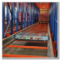 Quality Fully Automatic Warehouse Radio Shuttle Racking System Powder Coating Surface for sale