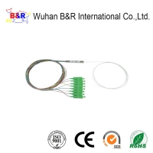 Quality 1x8 1.5m Fiber Optic PLC Splitter For FTTH System for sale