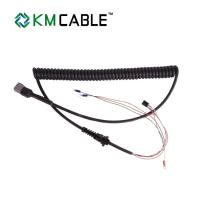 Quality 8 Amp Current Spiral Cable Assembly PVC / PP Insulation 1 Year Warranty for sale