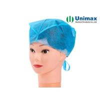 Buy cheap Unimax Medical SMS Disposable Non Woven Cap with Ties ISO13485 from wholesalers