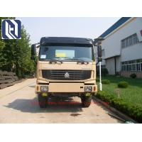 Quality SINOTRUK Howo 6X2 Prime Mover Truck in Black , Unloading Trucks , Color Can Be Selected for sale