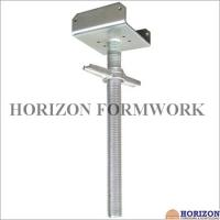 Buy Tubular Scaffold Screw Jack High Tensile Steel Adjusting Scaffolding Heights at wholesale prices