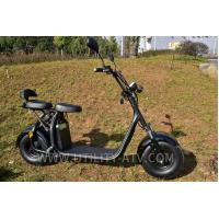Quality High Speed Fashion 2 Wheels Mobility Electric Scooter Motorcycle F / R V Brake for sale