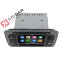 Quality Classic Sepecial Frame 6.2 Inch Seat Ibiza Dvd Player , Car Dvd Multimedia Player 3G for sale