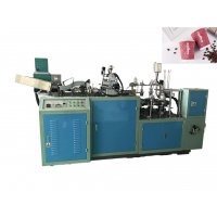 Buy cheap Biodegradable 20oz 40pcs/Min Paper Cup Sleeve Machine from wholesalers
