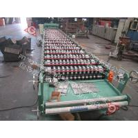 China Industrial Cold Roll Forming Machine For Roof Panel Thickness 0.4 - 0.8mm on sale