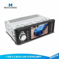 Buy Universal Single Din Navigation Head Unit  4.1 Inch Screen Car MP5 Player With Bluetooth at wholesale prices