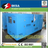 Quality Silent type 125kva Deutz water cooled low fuel consumption diesel generator competitive price with CE certification for sale