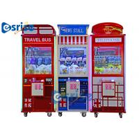 Quality Claw Candy Chocolate Toy Grabber Machine Customized Size Coin Operated for sale