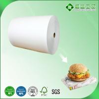 Quality greaseproof burger packaging paper for sale
