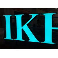 Quality Frontlit Custom Channel Letter Signs, Waterproof Outdoor DC12V Acrylic Material for sale