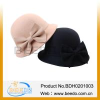 China 2015 Lady Wool Felt Cloche Hat Wholesale on sale