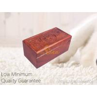 Quality Good Quality Luxury Rosewood Laser Cut Patterns Blank Wood Keepsake Urn Box,  Low MOQ, Quality Guarantee. for sale