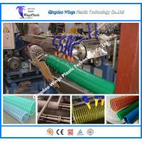 Quality PVC Suction Hose Extrusion Line / Plastic spiral Winding Reinforced Hose Making Machine for sale