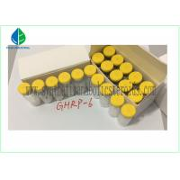 Quality Human Growth Hormone Releasing Peptide , GHRP 6 Peptide 5mg / Vial CAS 87616-84-0 for sale