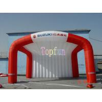 Outdoor Fabric Inflatable Tradeshow Event Tent / Outdoor Event Advertisment Tent With Printing