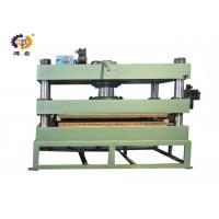 Quality 11kw 300T Green Hydraulic Heat Press Molding Machine For Door Plate for sale