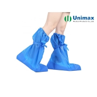 Quality 65gsm Disposable Non Woven Boot Cover for sale