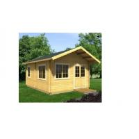 Buy Anti-Corrosive Outdoor Wooden House 590*570cm Waterproof For Garden at wholesale prices