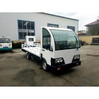 Quality Customized Electric Platform Truck , Enclosed Cab battery operated platform truck for sale