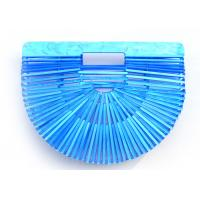 Buy cheap Plastic Basket Acrylic Clutch Bag Large Space Unique Shape For Travelling from wholesalers