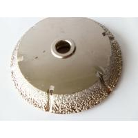 """Quality OEM / ODM 8"""" 10"""" Granite Grinding Wheel / Diamond Cup Grinding Wheel For Concrete for sale"""