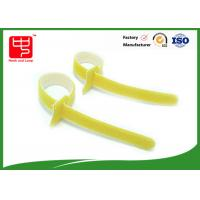 China Self gripping Double sides hook loop hook and loop fastening ties for wires tidy on sale
