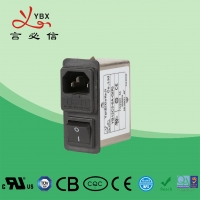 Quality Yanbixin 3A EMI Power Line Filter With Single Fuse Holder Compact Design for sale