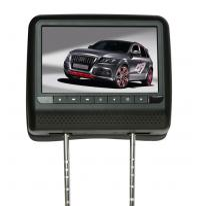 Quality Mercedence Benz 9 TFT LED Dual Headrest DVD / Car Headrest DVD Players for sale
