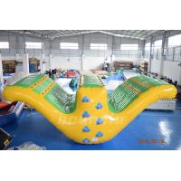 China 0.9mm PVC Tarpaulin Fabric Inflatable Water Sport, Inflatable Water Totter Slide on sale