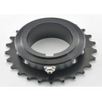 China 428 chain Aluminum 7075-T6 Go Kart Sprocket black 21 tooth / 25 tooth Sprocket wholesale
