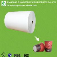 Quality PE coated board for disposable coffee cups for sale
