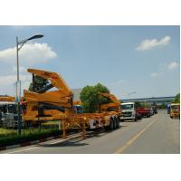 Quality Xcmg 20ft Truck Mounted Crane Container Side Lifter With Max 37 Tons Load Capacity for sale