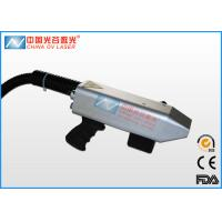 China Handheld Laser Rust Removal Machine For Rubber Molds Cleaning on sale