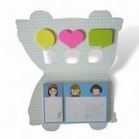 Quality Notepad and Memo Stick, Easy to Take with Lovely Design for sale