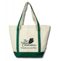 Quality Recyclable Personalized Tote Bags , Custom Cotton Canvas Tote Bag for sale